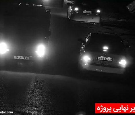 تصویر نهایی دوربین مداربسته پلاک خوان روستایی
